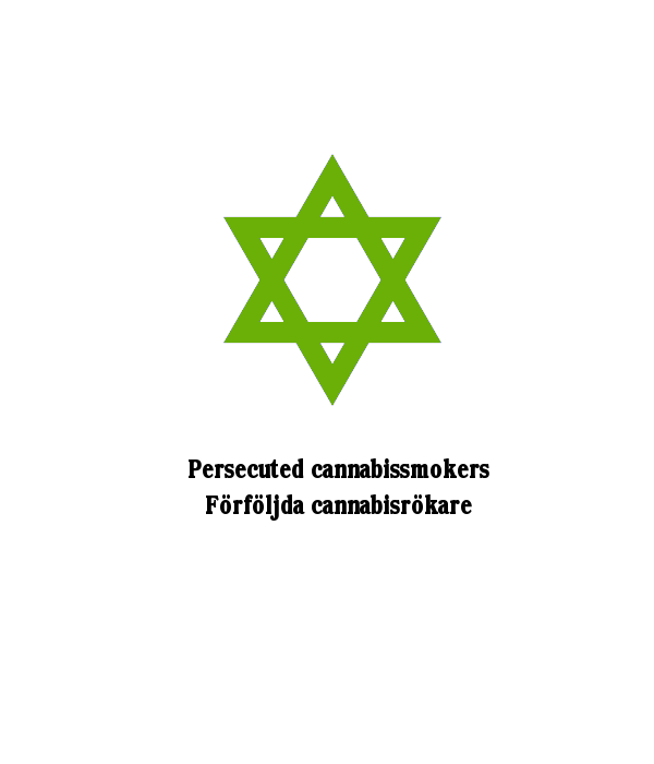 Green Star of David