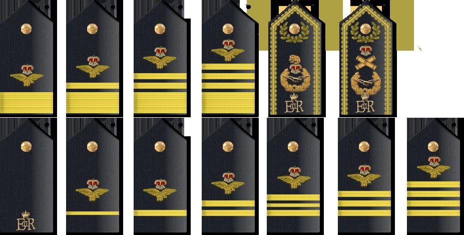 RAF Shoulder Boards by ChevronTango