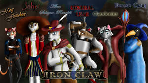 Iron Claw Sketch and Draft by ChevronTango