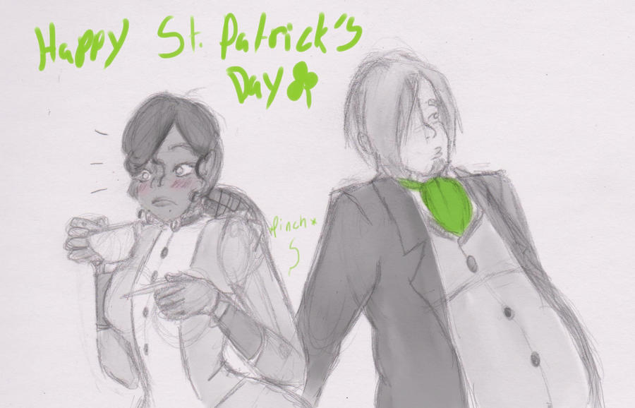 Happy St.Patty's day by ArtChick94