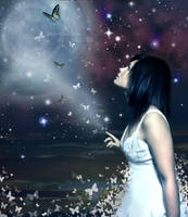 Celestial Butterflies by one-epidemic
