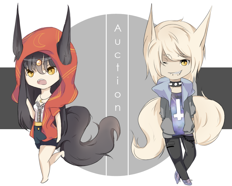Adoptables: Fairytale Wolves [C L O S E D] by BerriSugar