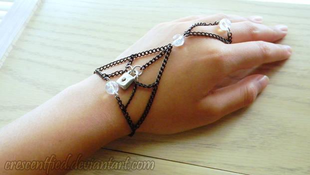 Locked Slave Bracelet