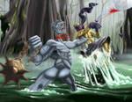 The Ninja against the Oni