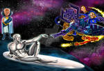 Creation of the Silver Surfer