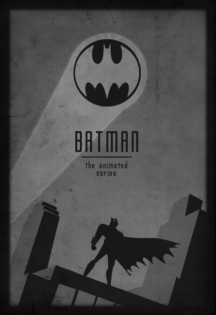 Batman: The Animated Series Minimalist Art by Vali-Ent on DeviantArt