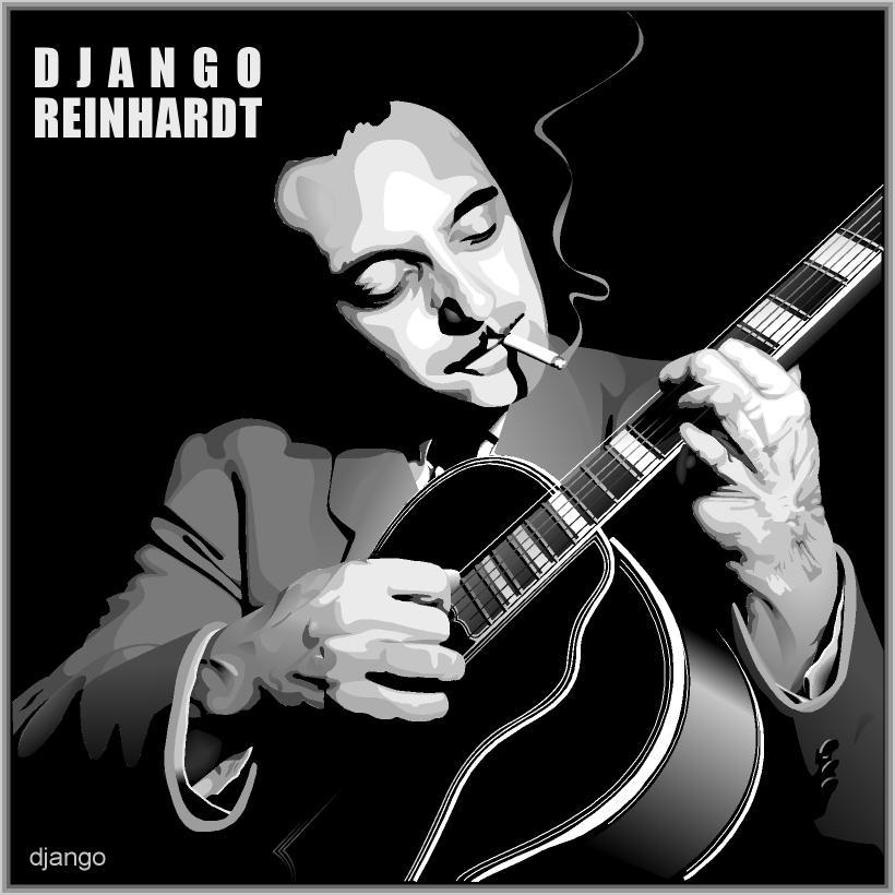 the life and work of django reinhardt Explore the life and music of jazz legend django reinhardt, one of the first important jazz guitar soloists, on biographycom.