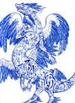Runed-Quetzal-Dragon