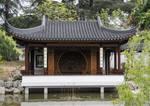 Chinese Pagoda on Lake Edge