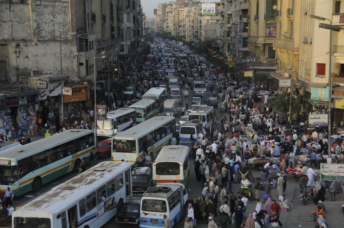 Cairo Has No Traffic Lights by AndySerrano