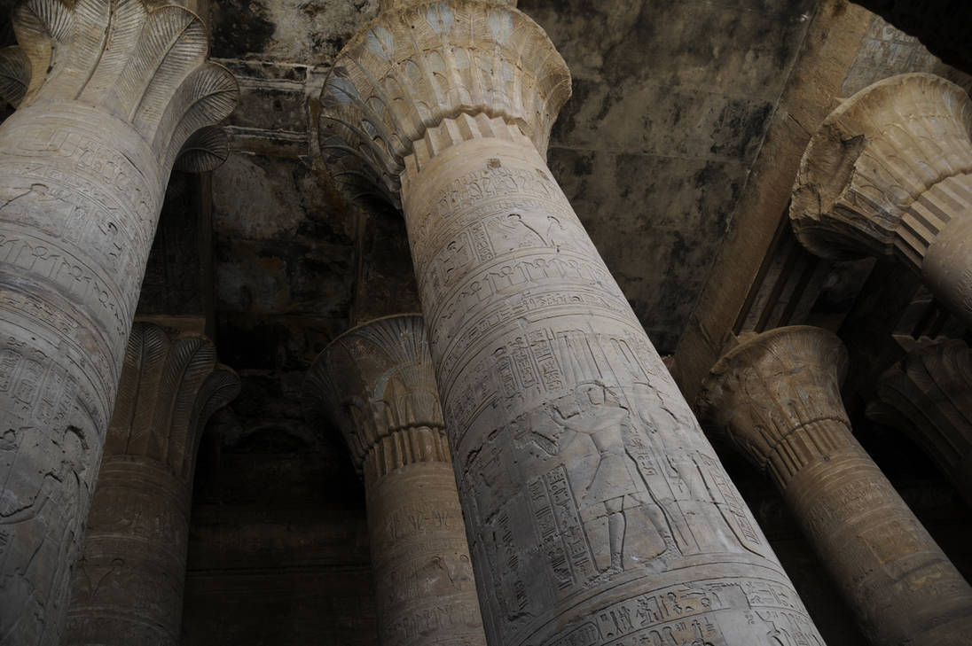 Horus Ceiling and Columns