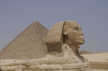 Sphinx with Nose by AndySerrano