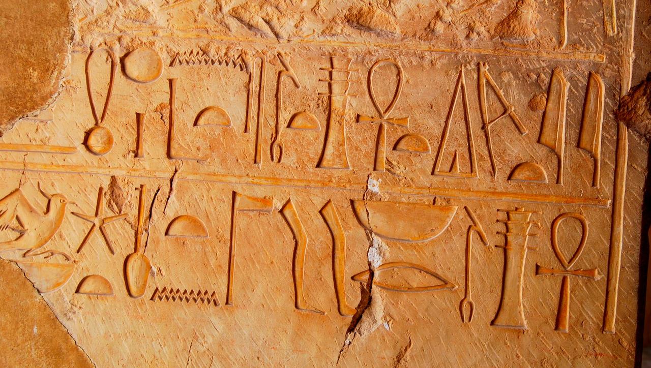 Hieroglyphics of Hatshepsut