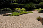 Japanese Garden Raked Gravel