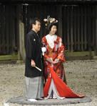 Wedding at Meiji Jingu Shrine