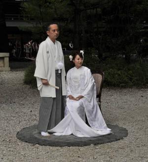 Wedding at Meiji Shrine