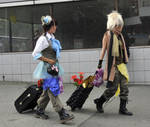 Harajuku Traveling Couple by AndySerrano