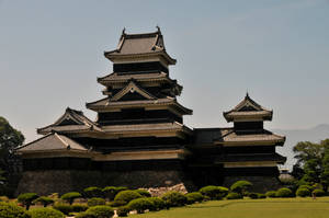 Front of Matsumoto's Castle by AndySerrano