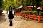 Happiness in Kyoto Garden