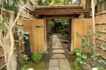 Japanese Home Courtyard