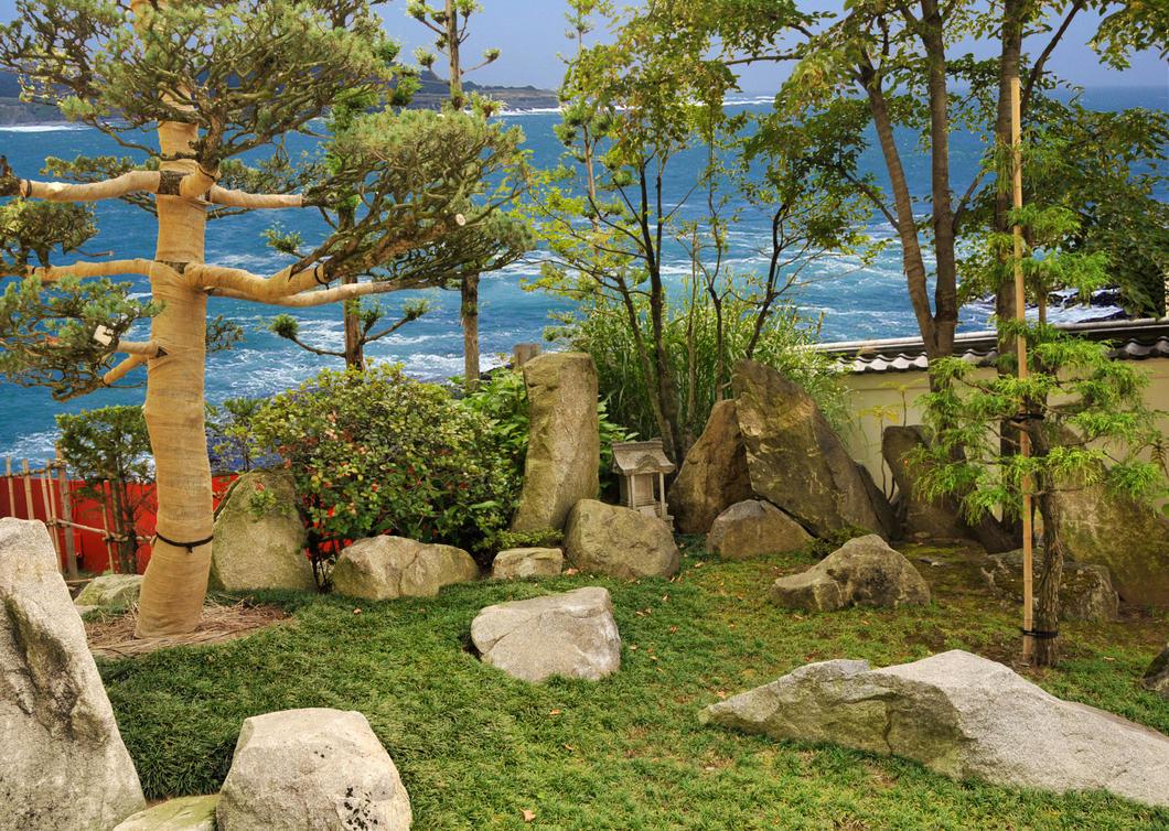 Sea of japan zen garden by andyserrano on deviantart for Japan zen garten