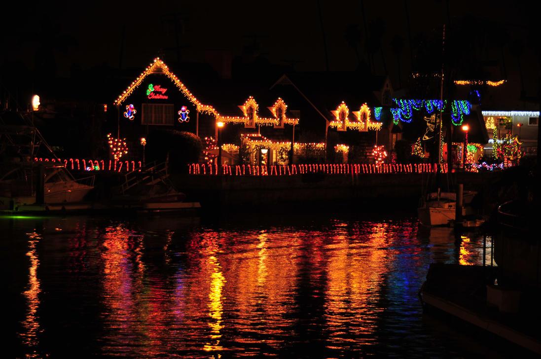christmas in naples california by andyserrano - Naples Long Beach Christmas Lights