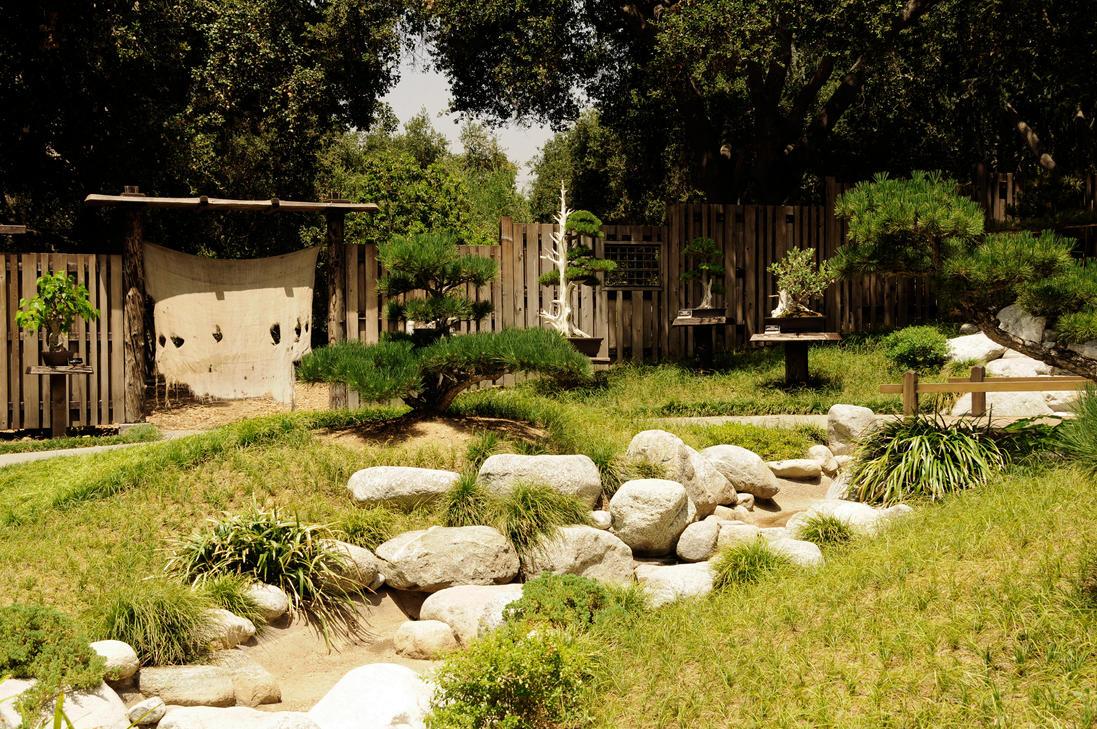 Japanese Bonsai Garden By AndySerrano
