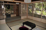 Teahouse Table Pillows Windows by AndySerrano