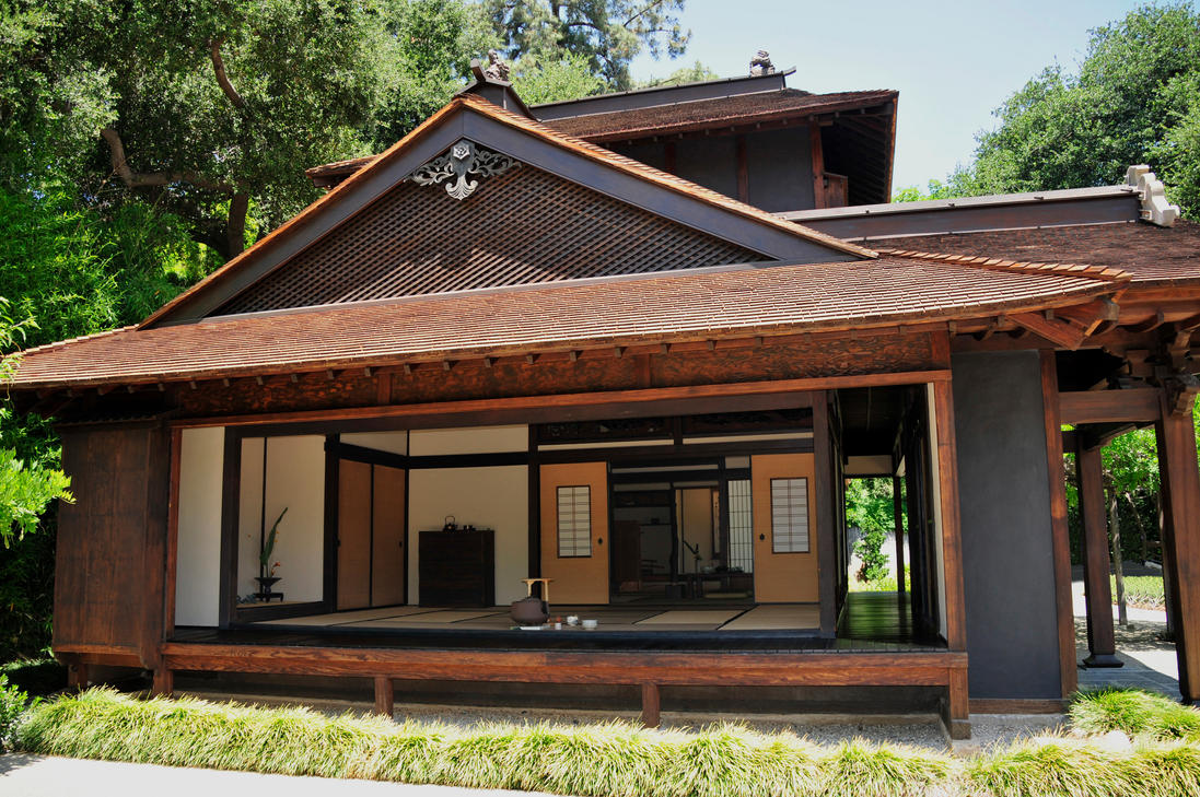 Open Door Japanese Teahouse by AndySerrano ... & Open Door Japanese Teahouse by AndySerrano on DeviantArt
