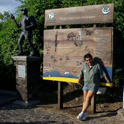 Andy at Galapagos Islands