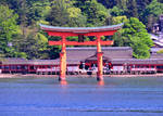 Itsukushima Torii and Shrine