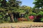 Kenrokuen Japanese Garden Tea House