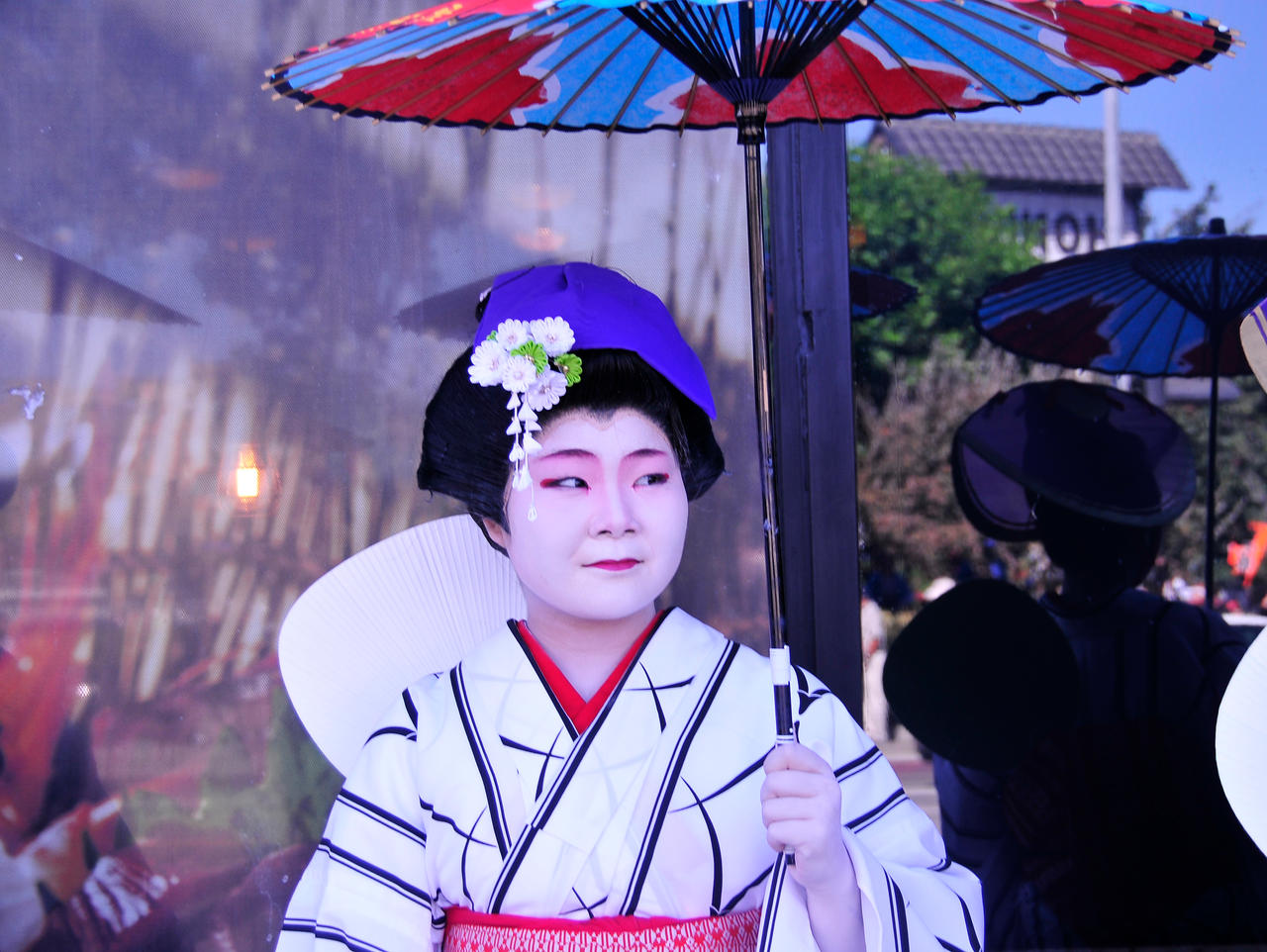 Japanese Lady with Parasol