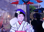 Japanese Lady with Parasol by AndySerrano