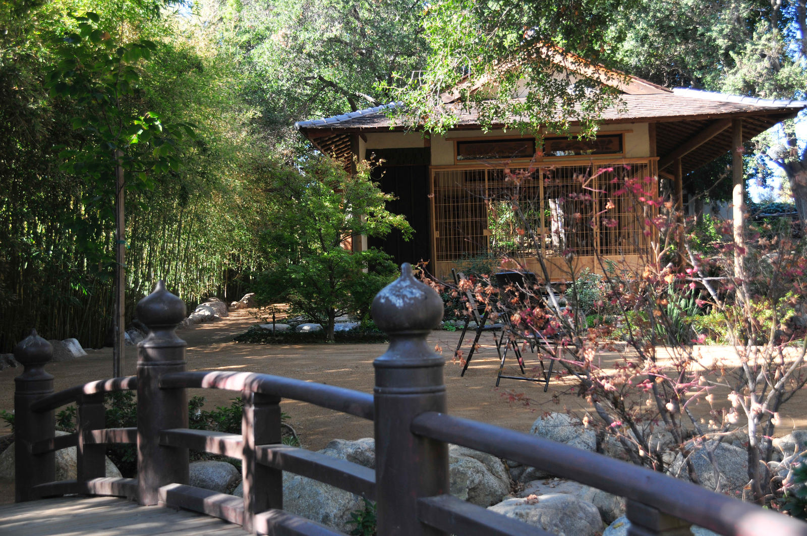 Teahouse Chairs and Soribashi