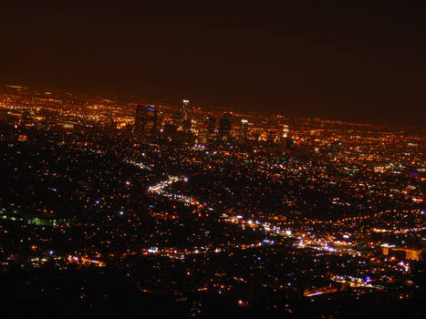 Night-time Los Angeles