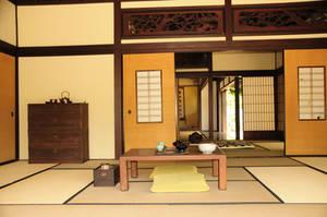 Japanese Garden 6 - Tea Set by AndySerrano