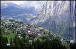 Cable Car Murren Switzerland