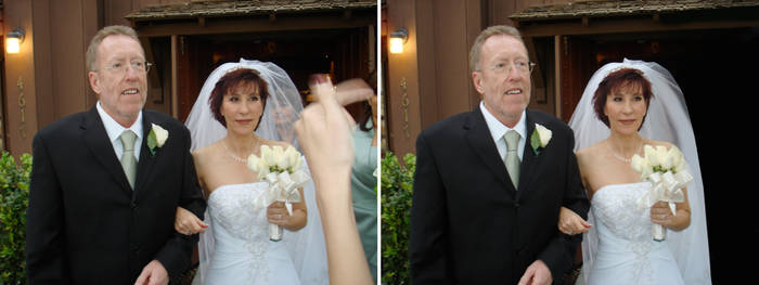Wedding 2 - Before and After