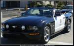 Mustang Convertible LAPD Car