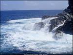 Receding Ocean Waves