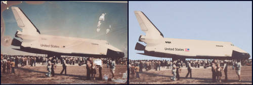 Shuttle - Before and After