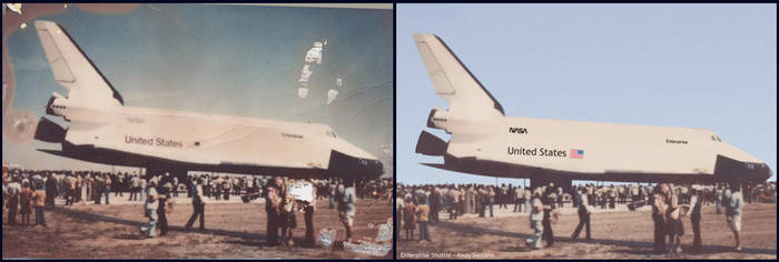 Shuttle - Before and After by AndySerrano