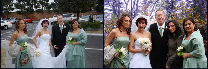 Wedding - Before and After