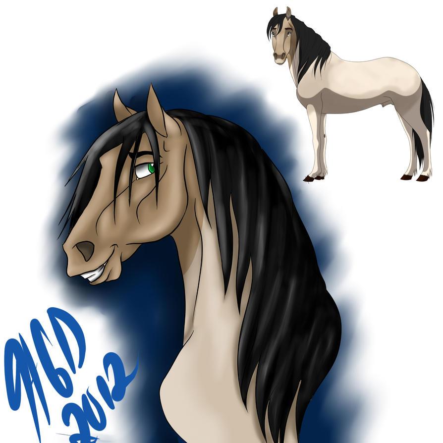 My new Stallion by HotrodsImpulse
