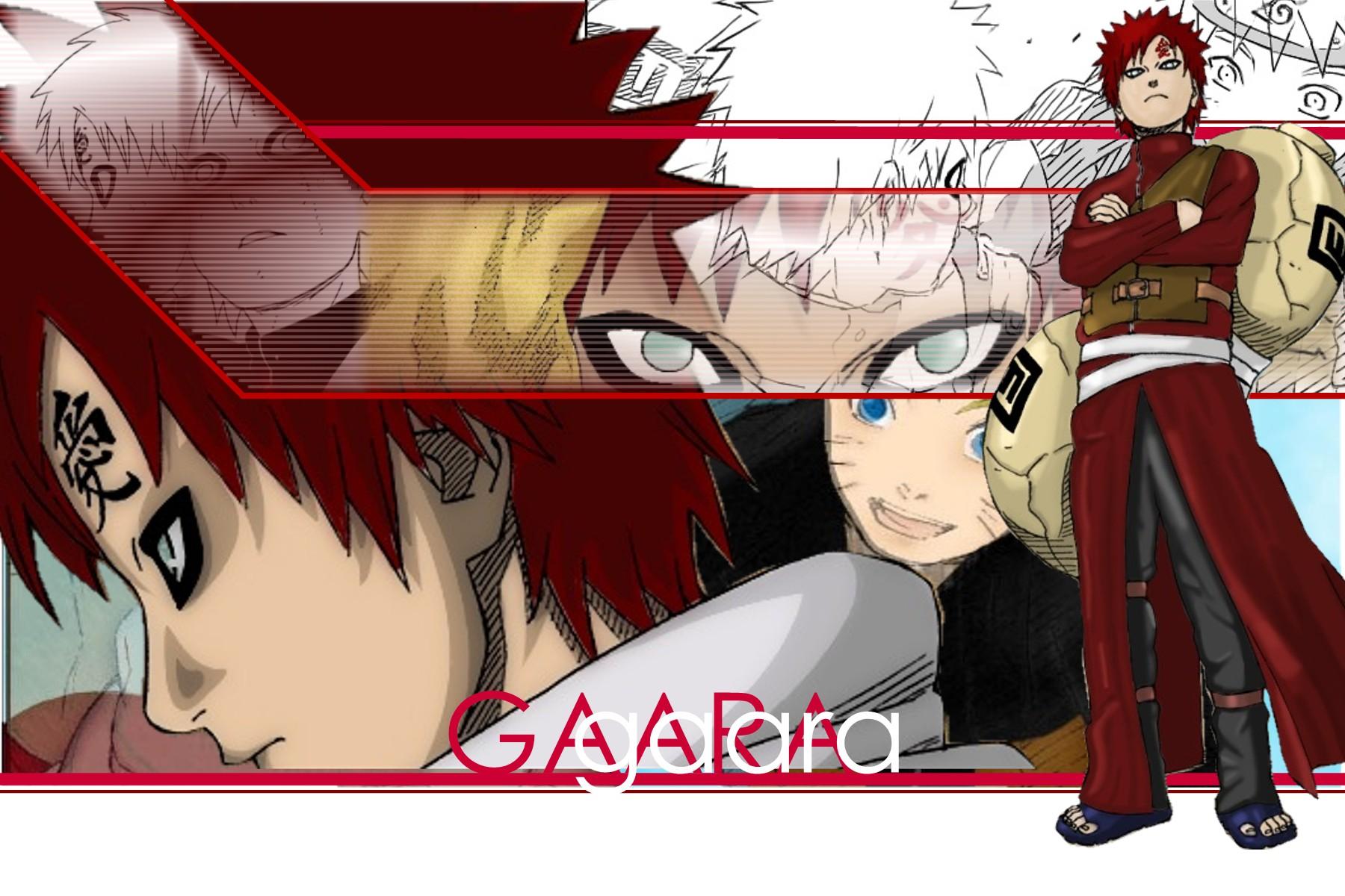 Kazekage Gaara Mundo Naruto