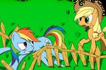 Rainbow Trouble (ATG day 4)