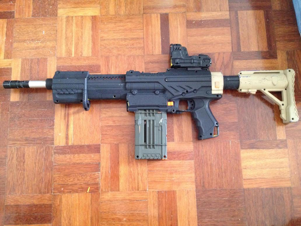 Image of 3D Printed Nerf Gun Parts, Mods & Attachments: Nerf Retaliator  Pump Action