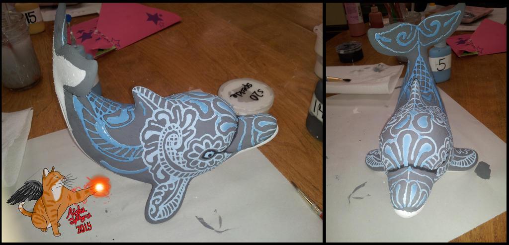 Dolphin Henna Tattoo: Henna Dolphin Unfired By Aisha-Sphynx On DeviantArt