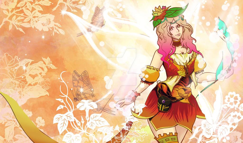 Nature Sprite by fairydragon